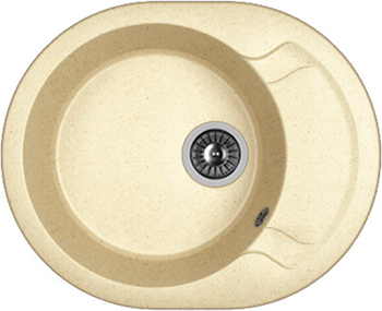 Кухонная мойка DrGans БЕРТА 580 дюна кухонная мойка drgans габи 1015х510 x 217 цвет дюна