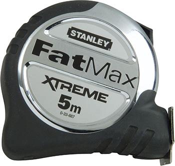 Рулетка Stanley FATMAX XL 5M 0-33-887 рулетка stanley fatmax 30мx9 5мм 0 34 132