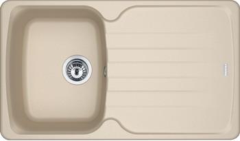 Кухонная мойка FRANKE Antea AZG 611-86 бежевая вентиль 114.0489.273 кухонная мойка franke antea azg 620 бежевая 114 0489 301