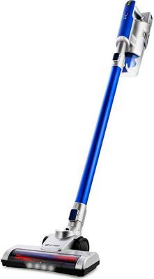 Пылесос беспроводной Kitfort KT-536-3 серебристо-синий вертикальный пылесос kitfort kt 536 1 серебристо черный