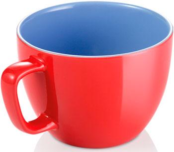Экстрабольшая кружка Tescoma CREMA SHINE красный 387196.20 кружка tescoma crema shine лазурный 387192 28