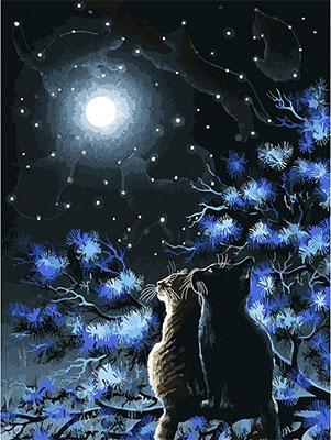 Живопись на холсте Белоснежка 30*40 см 295-AS Созвездия белоснежка живопись на холсте 30 40 см детеныш леопарда