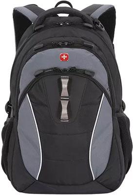 Рюкзак для города Wenger 13'' черный/серый полиэстер 32х15х46 см 22 л 16062415 рюкзак городской wenger 26 л серый серебристый 34х16х48см