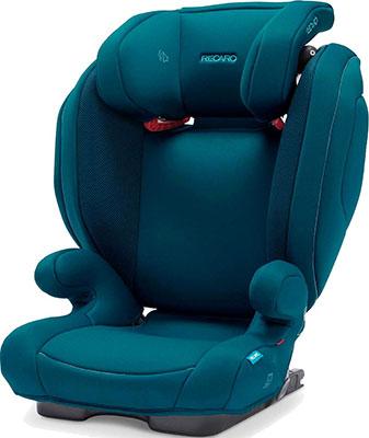 Автокресло Recaro Monza Nova 2 Seatfix гр. 2/3 расцветка Select Teal Green автокресло recaro salia гр 0 1 расцветка select teal green 00089025410050