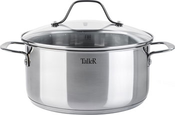 Кастрюля TalleR 11084-TR кастрюля taller tr 17248 5 3 л