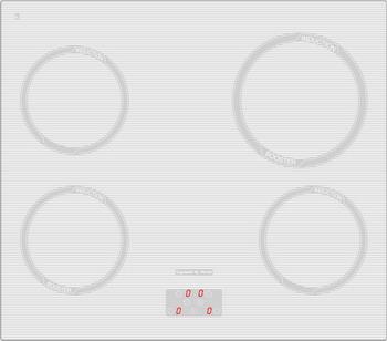 Встраиваемая электрическая варочная панель Zigmund amp Shtain CIS 299.60 WX индукционная варочная панель zigmund shtain cis 299 60 wx