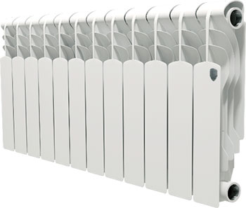 Водяной радиатор отопления Royal Thermo Revolution 350 - 12 секц. радиатор отопления kermi ftv тип 12 0410 ftv120401001r2k