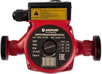 Насос Unipump UPС 25-80 180 93873 насос циркуляционый отопл unipump upс 25 60 180