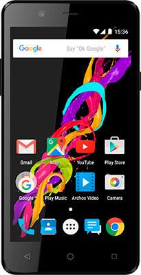 купить Смартфон Archos 50 Titanium Черный онлайн