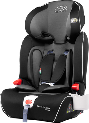 Автокресло Sweet Baby Gran Cruiser Isofix Grey/Black 386 012 автокресло ailebebe swing moon premium группа 1 2 black grey 113419