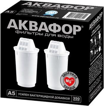 Сменный модуль для систем фильтрации воды Аквафор А5 комплект из 2 шт цена и фото