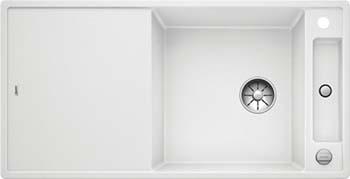 Кухонная мойка BLANCO AXIA III XL 6 S-F InFino Silgranit белый (доска ясень) 523523 паркетная доска однополосная ясень белый вк лак 0 99 м2