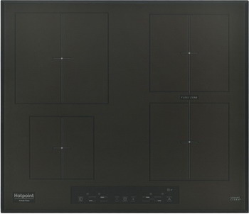 Встраиваемая электрическая варочная панель Hotpoint-Ariston KIA 641 B B (CF) индукционная варочная панель hotpoint ariston kia 641 b c