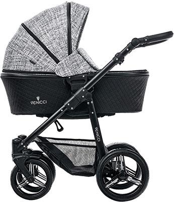 Коляска Venicci Shadow Fashion Black 121010 коляски 3 в 1 verdi faster modern 3 в 1