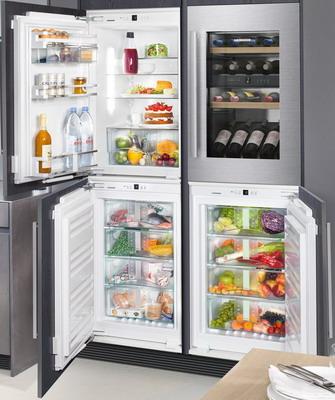 Встраиваемый холодильник Side by Side Liebherr SBS IKP 1660-20 + EWTdf 1653-20 + IGN 1664-20 + SIBP 1650-20 liebherr sbs 66 i3