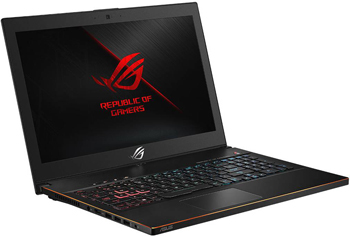 Ноутбук ASUS GM 501 GS-EI 033 i7-8750 H (90 NR 0031-M 01720) Black Metal
