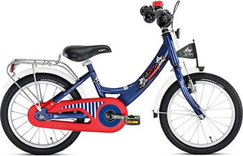 Велосипед Puky ZL 16-1 Alu 4228 Capt`n Sharky Капитан Шарки no name для tower 3 диаметр 8 5 alu 2шт 9 5 alu 1шт 9535 0311