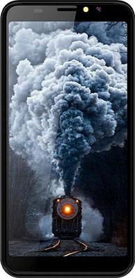 Смартфон Haier Alpha A6 синий смартфон