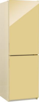 Двухкамерный холодильник NordFrost NRG 119 742 бежевое стекло двухкамерный холодильник норд nrg 119 542 золотистое стекло