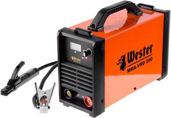 Сварочный аппарат WESTER MMA-VRD 200 сварочный инвертор ergomax mma 200 00000089666