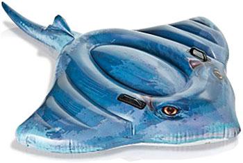 Надувная игрушка-наездник Intex 188х145см Скат от 3 лет 57550