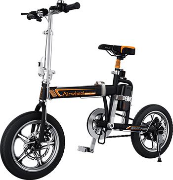 Электровелосипед Airwheel R3 -BLACK-214.6WH airwheel покрышка 16x2 125