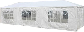 Садовый шатер Афина AFM-1045 B White (3х9 м) садовый шатер afm 1013a
