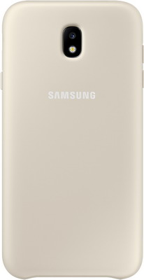 Чехол (клип-кейс) Samsung J7 (J 730) Layer Cover gold EF-PJ 730 CFEGRU цена и фото
