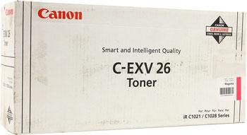 Тонер-картридж Canon C-EXV 26 M 1658 B 006 Пурпурный