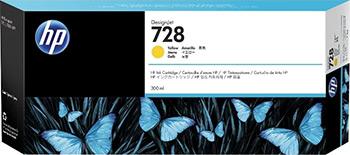 Фото - Картридж HP F9K 15 A (HP 728) Жёлтый картридж струйный hp 728 f9k17a голубой 300мл для hp dj t730 t830