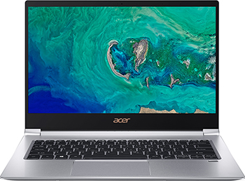 Ноутбук ACER Swift SF 314-55 G-74 ZE серебристый (NX.H3UER.004) цена и фото