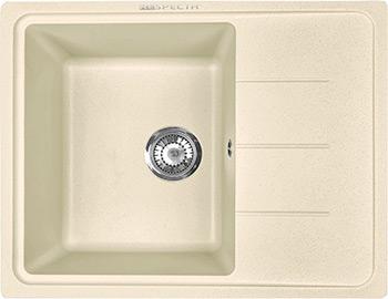 Кухонная мойка Respecta Tira RT-62 натуральный воск RT62.102