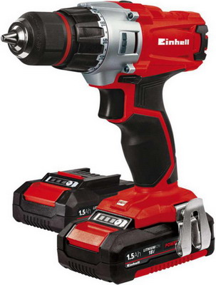 Дрель Einhell PXC TE-CD 18/2 Li kit 4513830 недорого