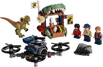 Конструктор Lego Побег дилофозавра 75934