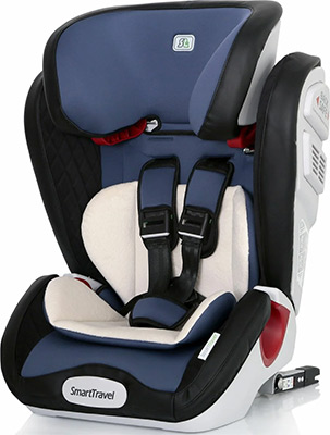 Автокресло Smart Travel ''Magnate ISOFIX'' Blue 1-12 лет 9-36 кг группа 1/2/3 KRES2068 child car safety seat cybex solution m fix sl 2 3 15 36 kg 3 up to 12 years isofix chair baby car seat kidstravel group 2 3