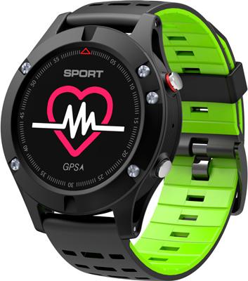 Умные часы NO.1 F5 черно-зеленые (NO.1F5GR)