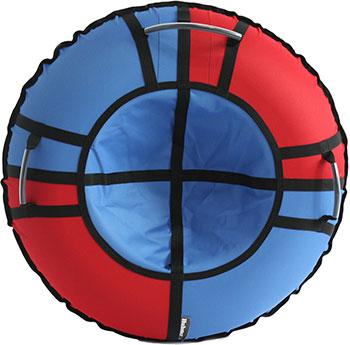 Тюбинг Hubster Хайп красный-голубой 110 см во5574-3 тюбинг hubster хайп красный голубой 100 см
