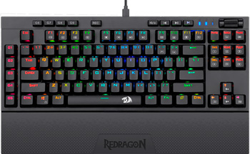 Механическая клавиатура Redragon Broadsword RU RGB 9 Macro keys (77548)