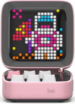 Портативная акустика DIVOOM Ditoo PINK (розовый) (90100058123) цена и фото