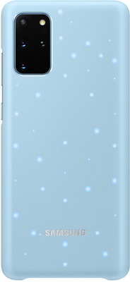 Чехол (клип-кейс) Samsung S20plus (G985) LED-Cover l.blue EF-KG985CLEGRU аксессуар чехол samsung galaxy note 8 led view cover gold ef nn950pfegru