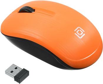Беспроводная мышь Oklick 525MW оранжевый оптическая (1000dpi) беспроводная USB (2but)