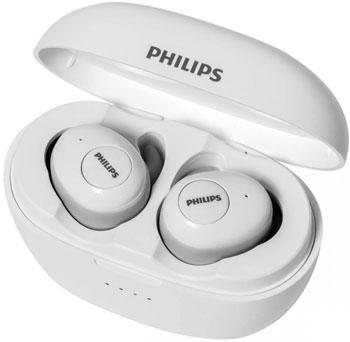 Фото - Беспроводные наушники Philips TWS TAT3215WT/00 WHITE наушники philips tat8505bk 00 черный