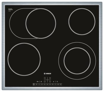 Встраиваемая электрическая варочная панель Bosch PKN 645 F 17 R цена и фото