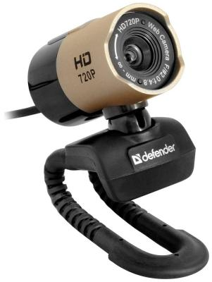Фото - Web-камера для компьютеров Defender G-Iens 2577 HD 720 p 2 МП 63177 видео