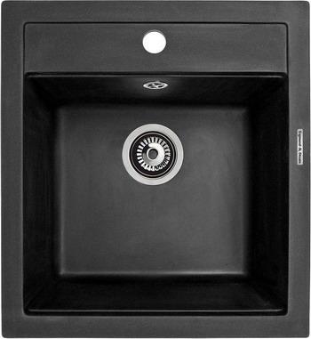 Кухонная мойка Zigmund amp Shtain PLATZ 465 темная скала
