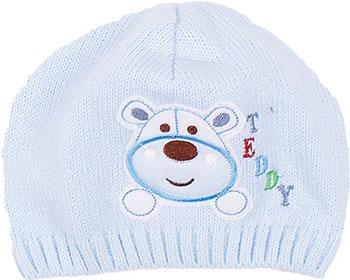 Шапочка Shapochka Teddy (голубая) размер 42 трусы для мальчика lowry цвет голубой белый 3 шт bb 306 размер xxxl 158 164
