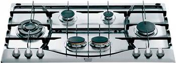 Встраиваемая газовая варочная панель Hotpoint-Ariston PHN 962 TS/IX/HA варочная поверхность hotpoint ariston phn 962 ts ix ha steel