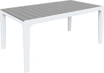 купить Стол Keter Harmony белый серый 17201231 дешево