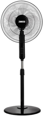 Вентилятор Zanussi напольный ZFF-907 вентилятор напольный zanussi zff 910