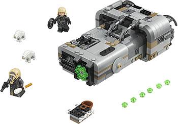все цены на Конструктор Lego Спидер Молоха 75210 онлайн